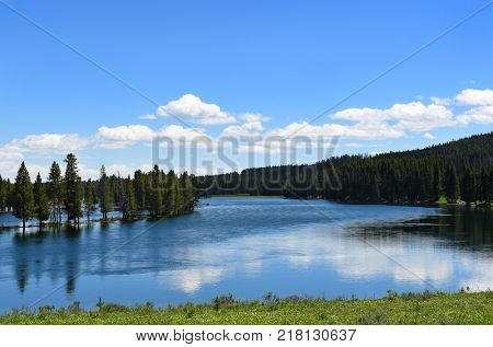 The Yellowstone River is a tributary of the Missouri River, in the western United States.