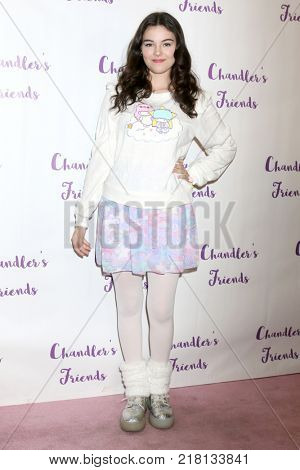 LOS ANGELES - DEC 10:  Merit Leighton at the Chandler's Friends Toy Drive & Wrapping Party  at Los Angeles Ballet Academy on December 10, 2017 in Los Angeles, CA