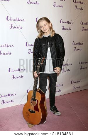 LOS ANGELES - DEC 10:  Gabriel Storm at the Chandler's Friends Toy Drive & Wrapping Party  at Los Angeles Ballet Academy on December 10, 2017 in Los Angeles, CA