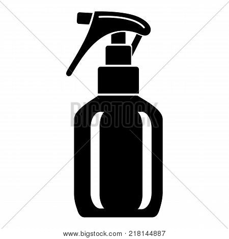 Spray bottle icon. Simple illustration of spray bottle vector icon for web