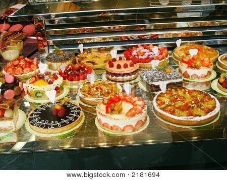 Pastry Store Window