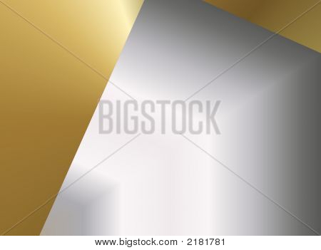 abstract digital background in silver and gold very suitable for christmas poster