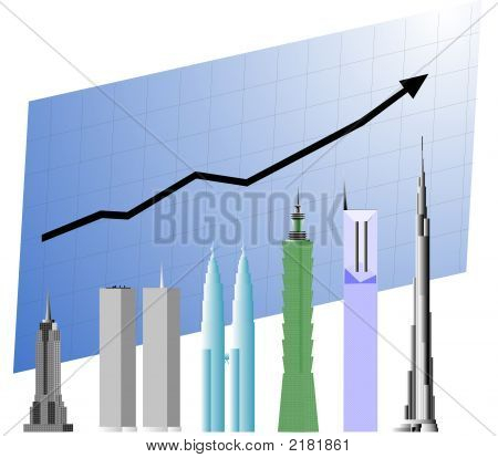 World'S Tallest Building Growth Chart