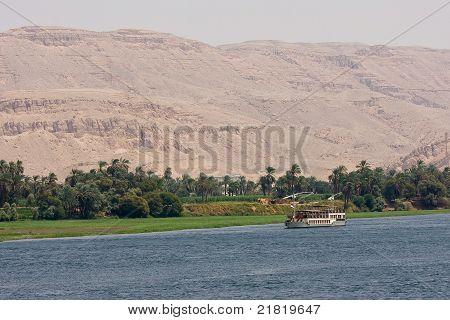 Shores of Nile river, Egypt
