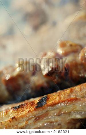 Barbecue Grill Spare Ribs