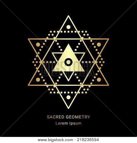 Sacred Geometry Sign