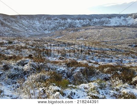 Winter at Lough Bray, Sally Gap, Co. Wicklow, Ireland