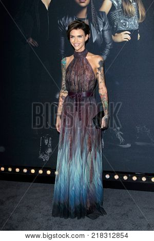 LOS ANGELES - DEC 12:  Ruby Rose at the