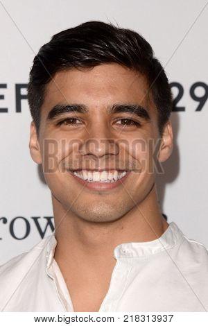 LOS ANGELES - DEC 13:  Jordan Buhat at the