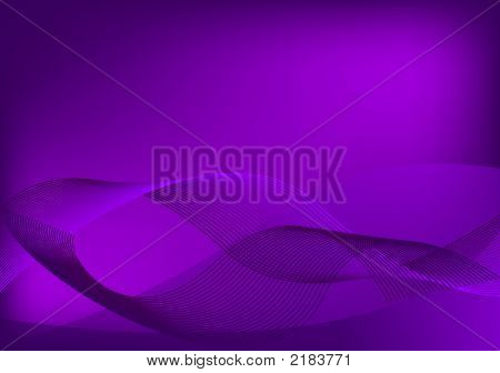 Abstract Retro Vector Purple Background