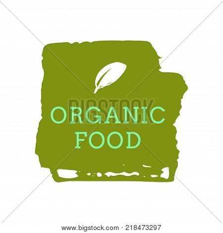 Eco Icon, Label. Organic Tags. Flat Stamp. Natural Eco Product. Vector Label Sign