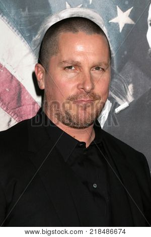 LOS ANGELES - DEC 14:  Christian Bale at the