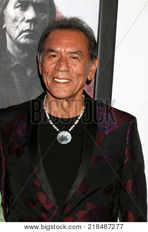 LOS ANGELES - DEC 14:  Wes Studi at the