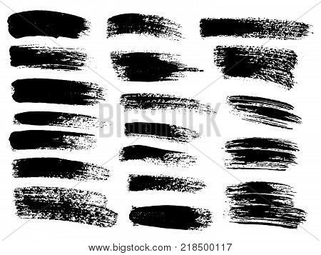 Ink Blots Grunge Urban Background.texture Vector. Dust Overlay Distress Grain . .black Paint Splatte
