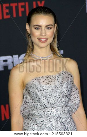 Lucy Fry attends the Netflix