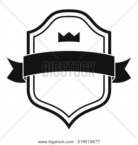Badge best quality icon. Simple illustration of badge best quality vector icon for web