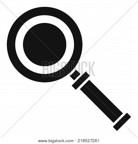 Cursor magnifier icon. Simple illustration of cursor magnifier vector icon for web