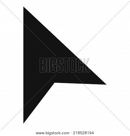 Cursor trendy element icon. Simple illustration of cursor trendy element vector icon for web