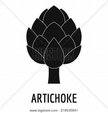 Artichoke icon. Simple illustration of artichoke vector icon for web