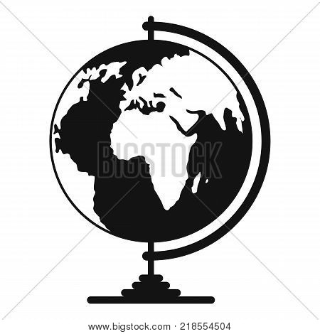 Geography icon. Simple illustration of geography vector icon for web