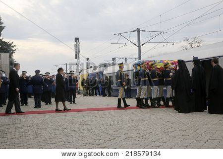 Funeral Of Romania's King Michael
