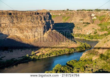 Snake River Canyon near Twin Falls, Idaho, USA