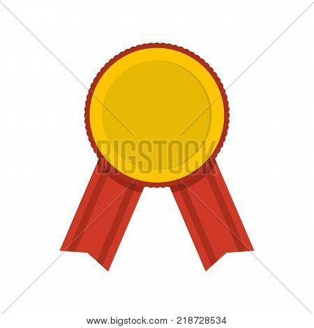 Award icon. Flat illustration of award vector icon isolated on white background