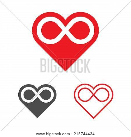 Forever Love Logo Vector Photo Free Trial Bigstock