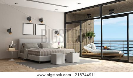 Large Master Bedroom Of An Holiday Villa