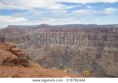 The view from the famous Guano Point in Arizona