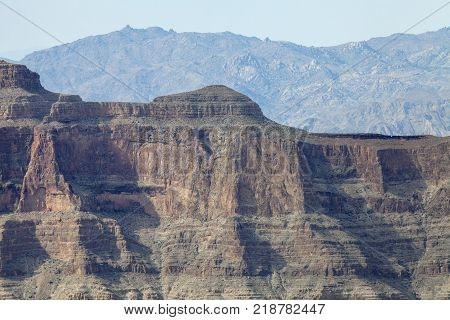 The amazing rock formations at the West Rim