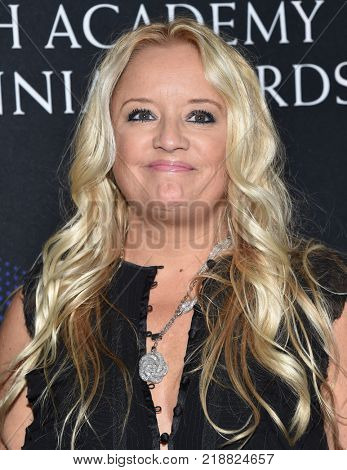 LOS ANGELES - OCT 27:  Lucy Davis arrives for the BAFTA Brittania Awards 2017 on October 27, 2017 in Beverly Hills, CA
