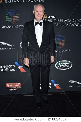 LOS ANGELES - OCT 27:  John Lithgow arrives for the BAFTA Brittania Awards 2017 on October 27, 2017 in Beverly Hills, CA