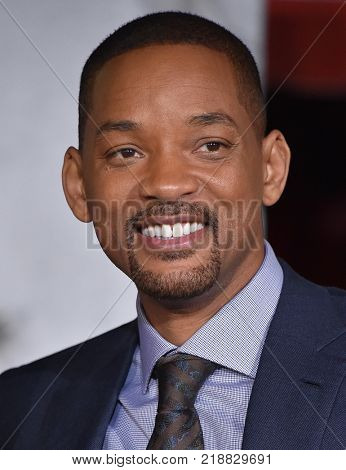LOS ANGELES - DEC 13:  Will Smith arrives for the