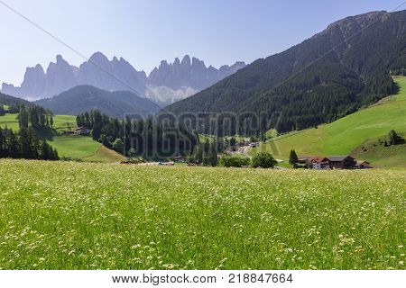 Santa Maddalena In The Dolomites