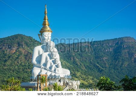 Wat Pha Sorn Kaew also known as Wat Phra That Pha Kaew, is a Buddhist monastery and temple in Khao Kho district, Phetchabun, Thailand.