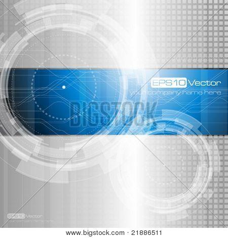 Abstrakte Technologie - Vektor-illustration