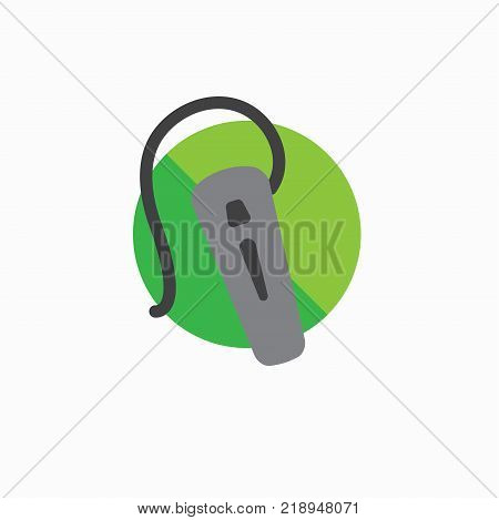 Hearing Aid Icon With Wraparound Ear Wire