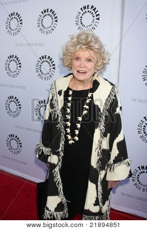 LOS ANGELES - JUN 7:  Phyllis Diller arrives at the Debbie Reynolds Hollywood Memorabilia Collection Auction & Auction Preview at Paley Center For Media on June 7, 2011 in Beverly Hills, CA