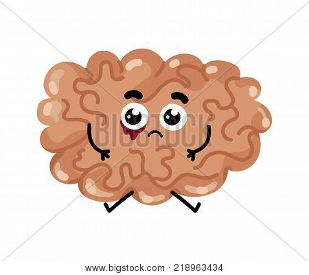 human sick brain vector photo free trial bigstock