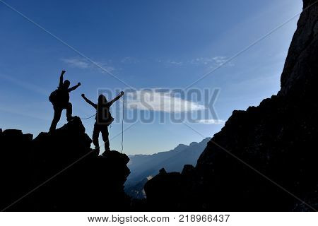 rock climbing and challenging challenging mountains & adventure passion, mountains and happiness of success