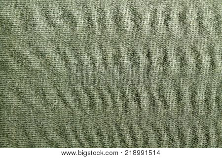 Green fabric background texture for web site or mobile devices