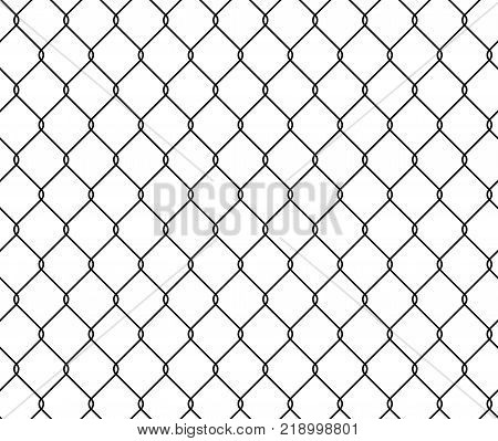 Seamless Texture Metal Wire Fence Vector & Photo   Bigstock