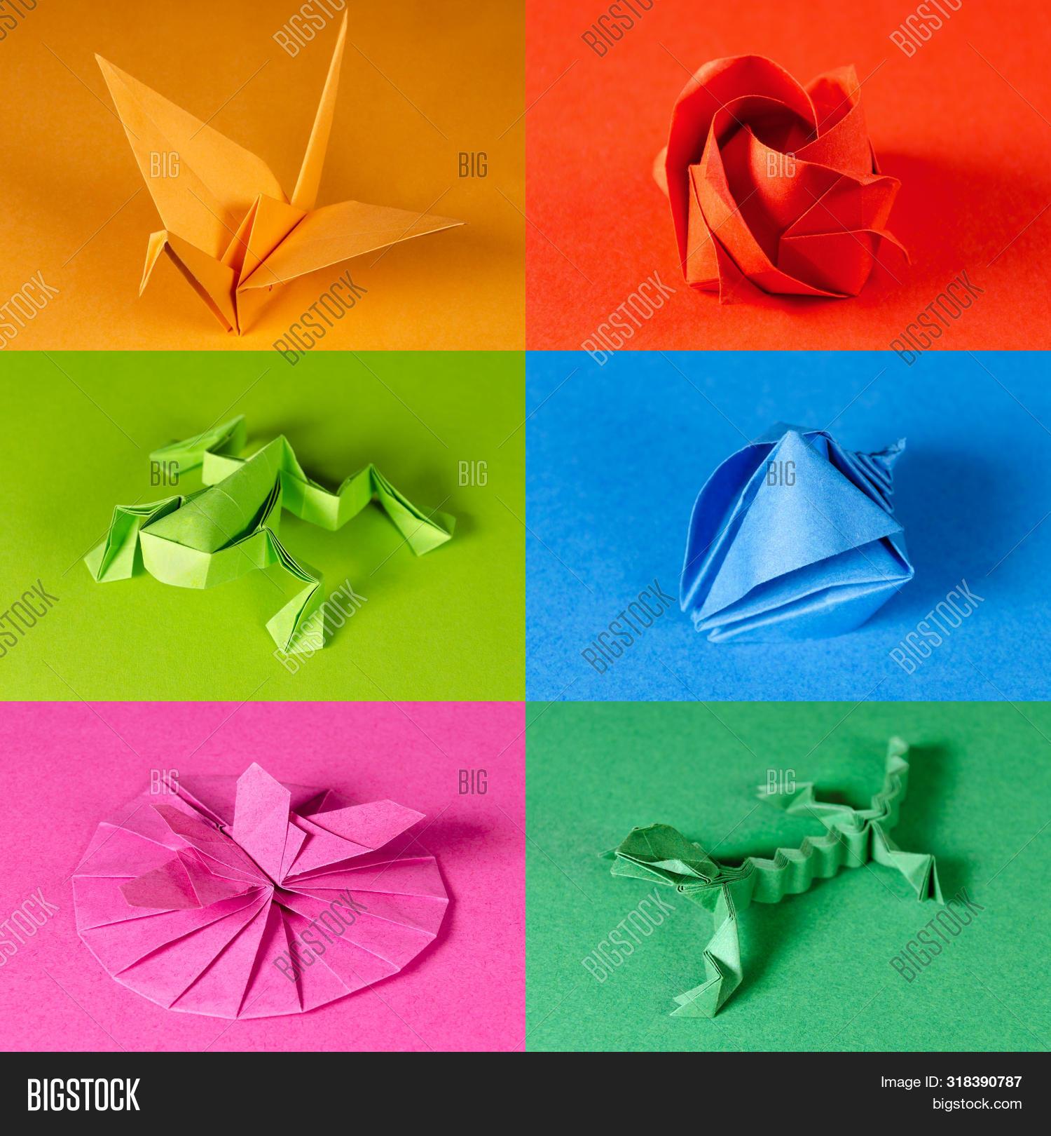 Lizard designed by Roman Diaz : origami | 1620x1500