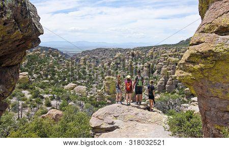 Wilcox, Arizona, August 18. Chiricahua National Monument On August 18, 2019, Near Wilcox, Arizona. A