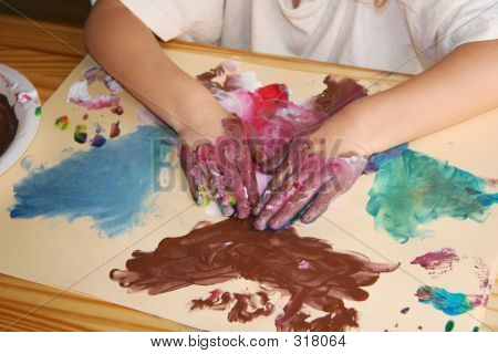 Preschool Painting Activity