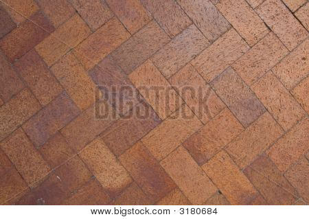 Brick Chevron Pattern