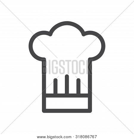 Chef Hat Icon Isolated On White Background. Chef Hat Icon In Trendy Design Style For Web Site And Mo