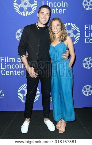 NEW YORK - AUG 16: Dan Berk (L) and guest attend the premiere of 'Villains' at the 2019 Scary Movies XII at Lincoln Center on August 16, 2019 in New York City.