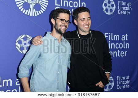 NEW YORK - AUG 16: Robert Olsen (L) and Dan Berk attend the premiere of 'Villains' at the 2019 Scary Movies XII at Lincoln Center on August 16, 2019 in New York City.